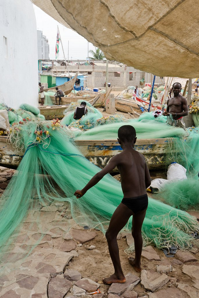 Fishermen in Elmina