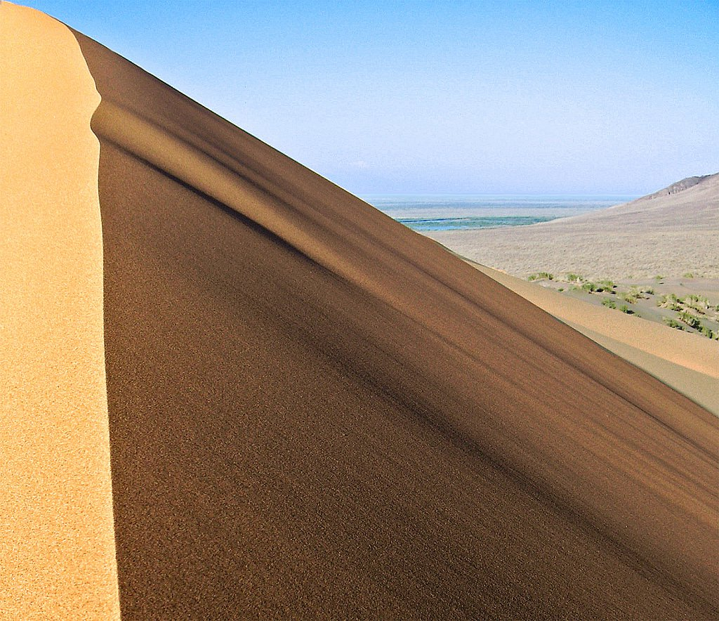 """Singing Dune"" at Altyn Emel' Nat'l Park, Kazakhstan"