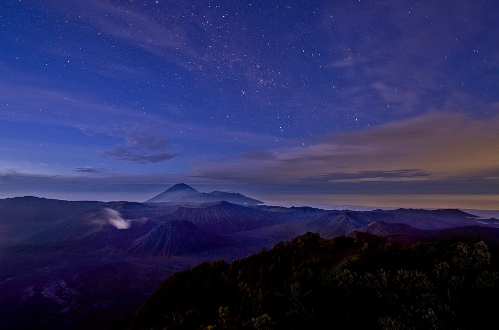 Morning over Mount Bromo