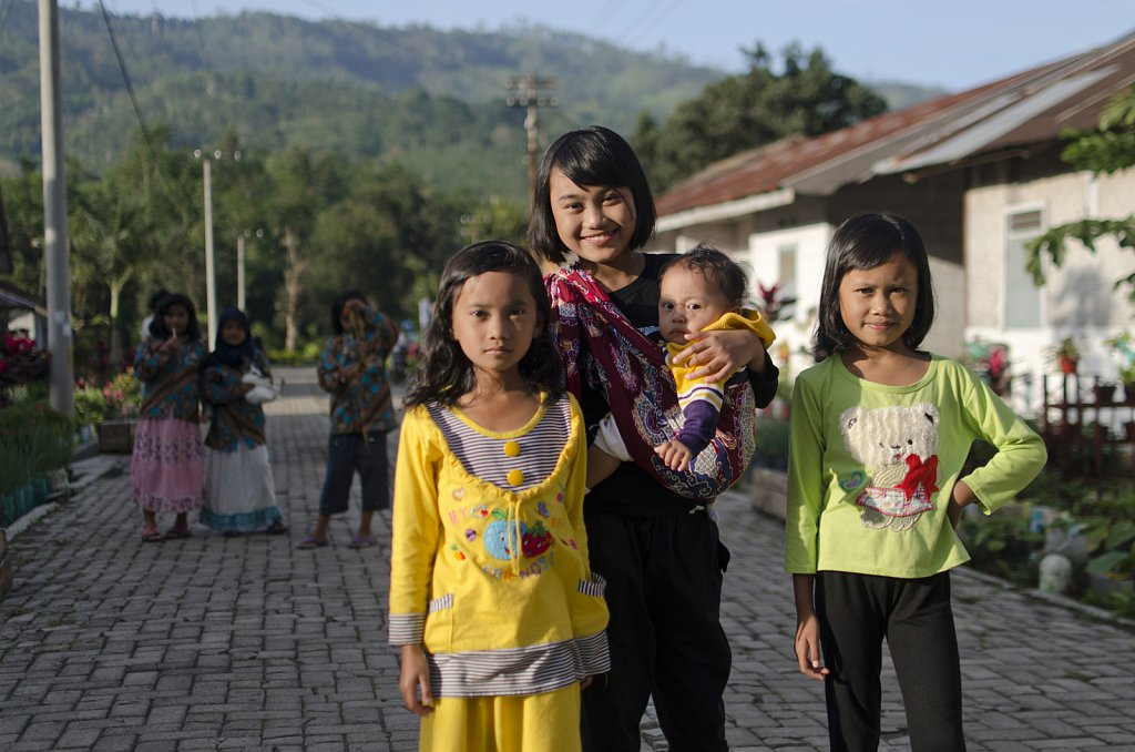 Kids in East-Java
