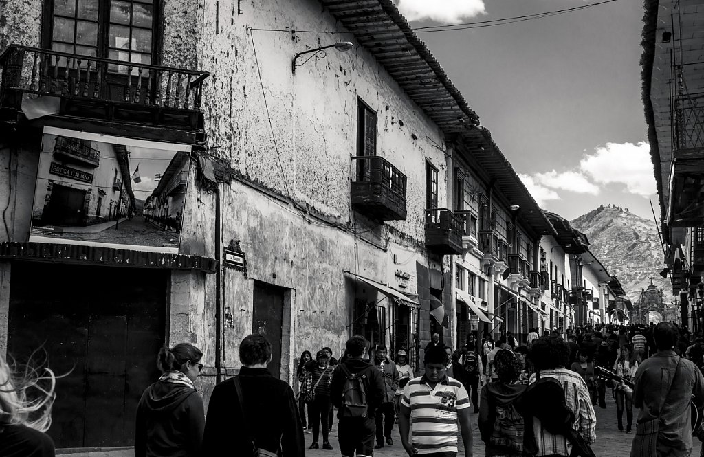 Cusco walking street