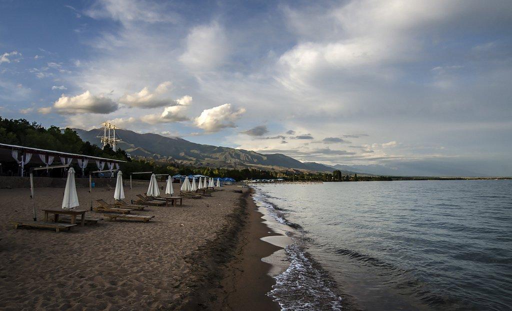Issyk-Kul at Avrora Beach near Tsholpon-Ata