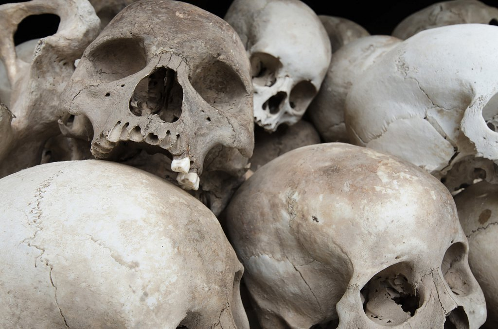 Killing fields near Phnom Penh