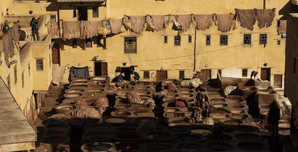 Fes: Tannerie