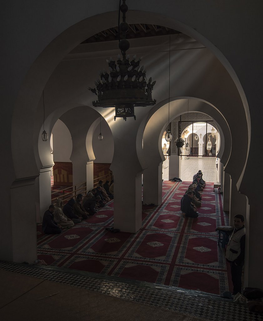 Fes mosque and University of Al Quaraouiyine (from 859, oldest in the world)