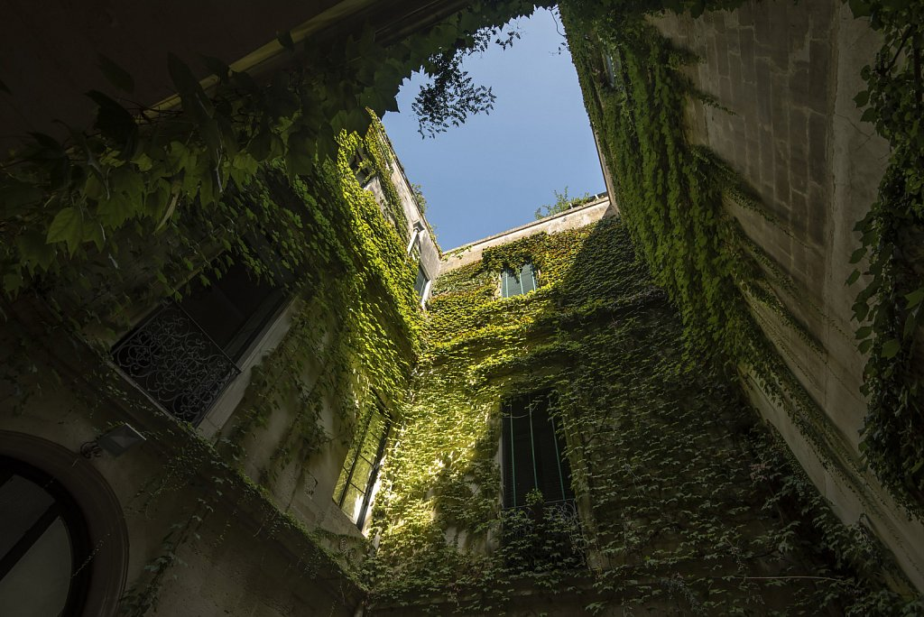 Courtyard in Lecce